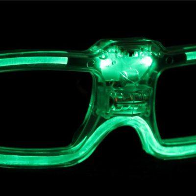Gafas led Activación por Sonido
