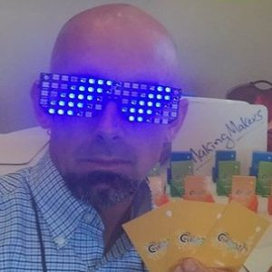 gafas-led