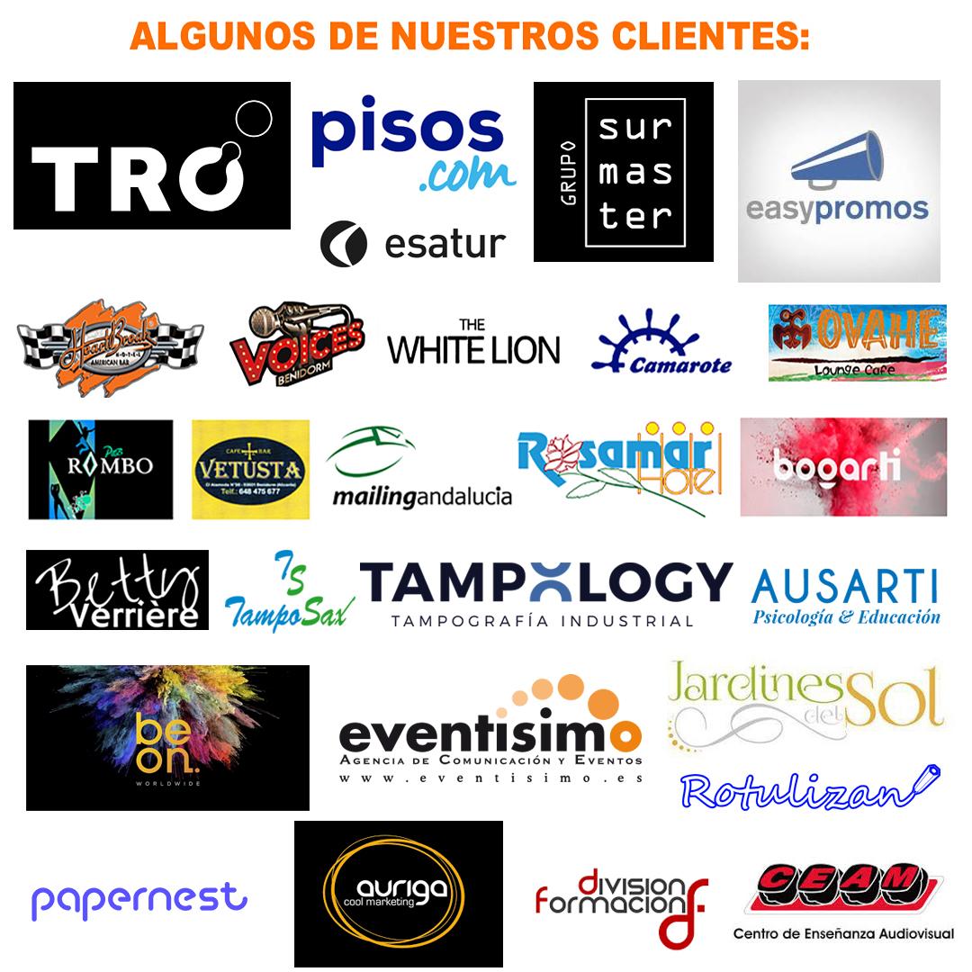 Logos de nuestros clientes